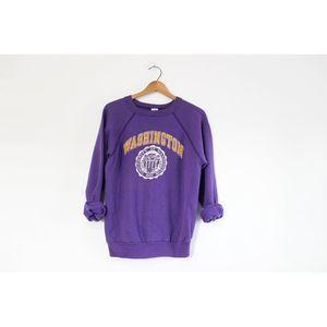 Vintage University of Washington Huskie Sweatshirt